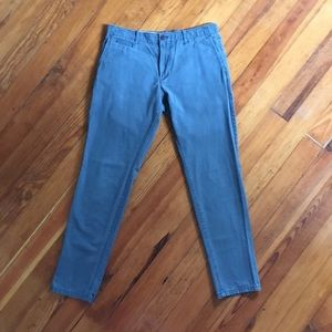 GAP Lived In Skinny Casual Pants Size 32/32 green